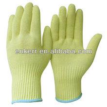 CE EN388 approved cut resistant kevlar gloves oil resistant and chemical resistant gloves