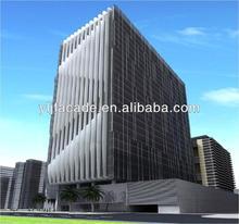 Aluminum Sun Louver, Aluminum Screen, High Building Facade