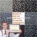 Caldo di vendita hyb-mbm tessere di mosaico crema marfil mattonelle di mosaico economici mattonelle di mosaico fogli