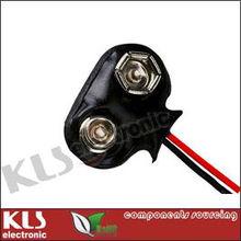 9V Battery Snap Connector UL CE ROHS KLS5-BC9V-02 9V Battery Snap Clips