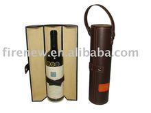 Leather Wine Holder