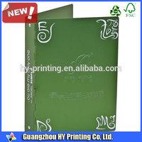 Guangzhou Printing lastest OEM paper file folder