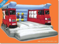 2013 New Inflatable Fire Truck Bouncers