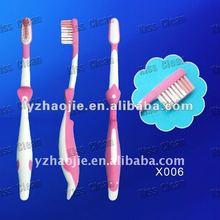 X006) Unique Design Soft Bristle Kids/Baby Toothbrush