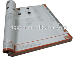 2013 High quality Product colorful printing catalog/catalogue
