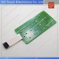 La bóveda del Metal PCB teclado de membrana interruptor con de la cubierta completa ESD de la cola