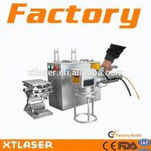 Fiber Laser Marking Machine/Auto Parts/Jewelry/gold/silver
