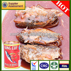 200g canned mackerel in brine