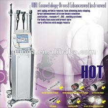 2012 hot!!! Vacuum RF Cavitation Body slimming face lifting eye wrinkel removal Breast beauty Beauty Salon Machine