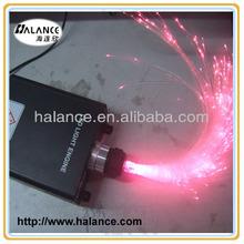 45W led light optic fiber lighting kit, RGB mixed colors