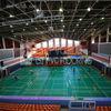 standard badminton court flooring, sports flooring