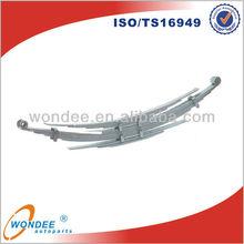 China WONDEE Hot Sale Bus Steel Leaf Spring