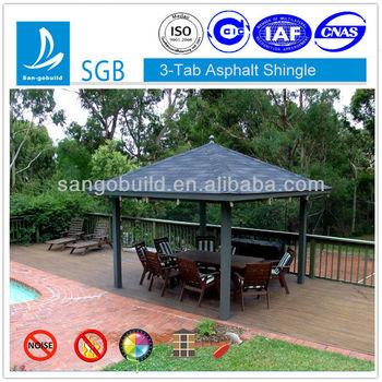 3-tab asphalt roofing shingles project