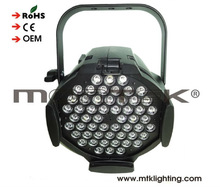 Mounteck factory supplier brightness 54*3W led parcan stage light