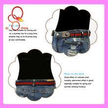 2013 Fashion Elastic Band Smart Buckle Fancy Women Belts