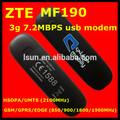 3 g dongle externo mf190, Huawei / zte mf190 3 g usb módem inalámbrico
