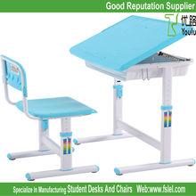 ergonomic adjustable kids study table and desk for children