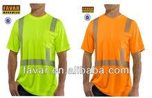 Mens High Visibility Class 2 Short Sleeve T-Shirt