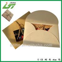 custom kraft square paper envelopes