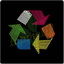 Environmental Symbol Korean Stone Hotfix designs for Bags