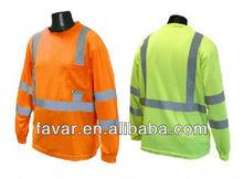 Moisture Wicking Long Sleeve Safety T-Shirt Long Sleeve