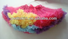 Lovely multicolor Wholesale Girls pettiskirt for party for Halloween