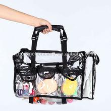 pvc cosmetic bag clear pvc makeup bag transparent clear cosmetic bag