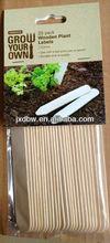 Customized Garden Seeding Wood Plant Label