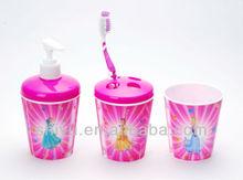 Plastic Tooth Glass ( Promotional 3D Lenticular Cup ), Plastic Bathroom Set