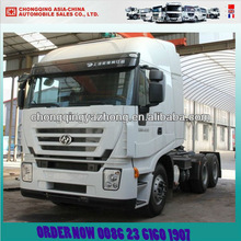 Saic hongyan camion tracteur iveco 400hp 6x4( cq4254htvg324b)