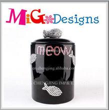 Direct Factory Produce Wholesale OEM Decor Gift Ceramic Pet Cosmetic Jars