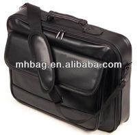 Black Pu leather Laptop bags,laptop case,laptop briefcase