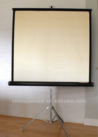 fixed frame tripod stand projector curtain portable projector screen