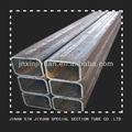 tubo rectangular de acero estándar de tamaños