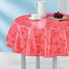 banquet vinyl tablecloth (PEVA with flannel)
