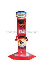 Promotion !! Amusement boxer game machine, Punch Bag Boxing Game Machine,punching game machine