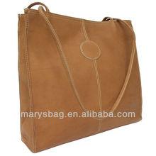 medium leather bag with interior zip pocket