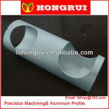 customized aluminum alloy 6063 t5 extrusion tube fittings