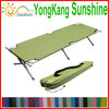 Folding camping bed with carry bag,can be hold 300LBS,folding bed