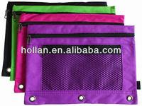 back to school colorful zipper pencil case pencil box pencil pouch