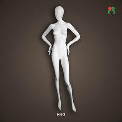 Fashion plastic female mannequin/dummy doll/model plus size full-body female mannequin sale HM-3