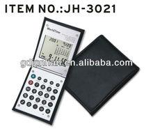 Sliding alarm clock world time digital calendar calculator