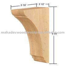 Precio bajo el soporte de madera de diseño, ménsulas decorativas