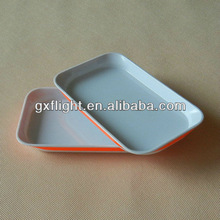 Colored ABS rotable catering serving dishes