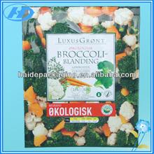 back side seal fresh plastic vegetable packing bags