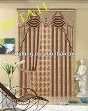 retail curtains of windows for polyester towel jacquard curtains