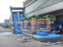 outdoor big tropical inflatable water slide for top sale