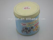 Novelty aluminum gift cake tins,custom cake tin container