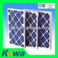 marco de papel de filtro de aire de papel plisado