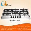 5 queimador açoinoxidável/inox fogão a gás/gás fogão( lq- 915)
